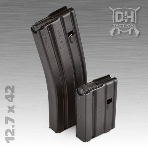 12.7 x 42 / .50 Beowulf Firearm AR-15 Magazine