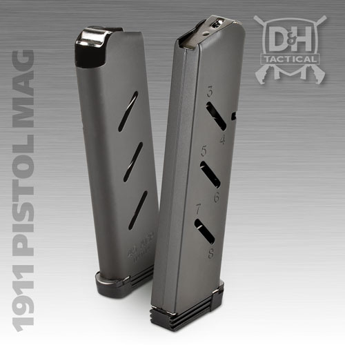 1911 Pistol / .45 ACP Firearm Magazine