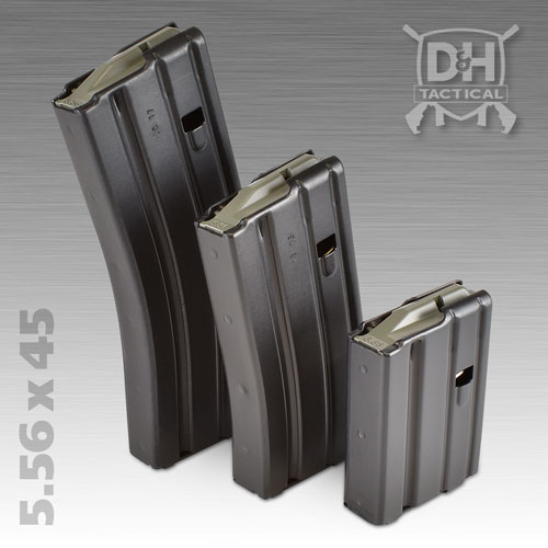 5.56 x 45 / .223 Remington Firearm M16 Magazine