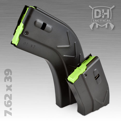 7.62 x 39 Firearm AR-15 Magazine